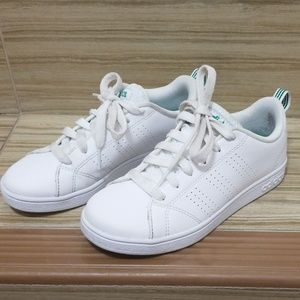 Adidas white classic sneakers. Size 1